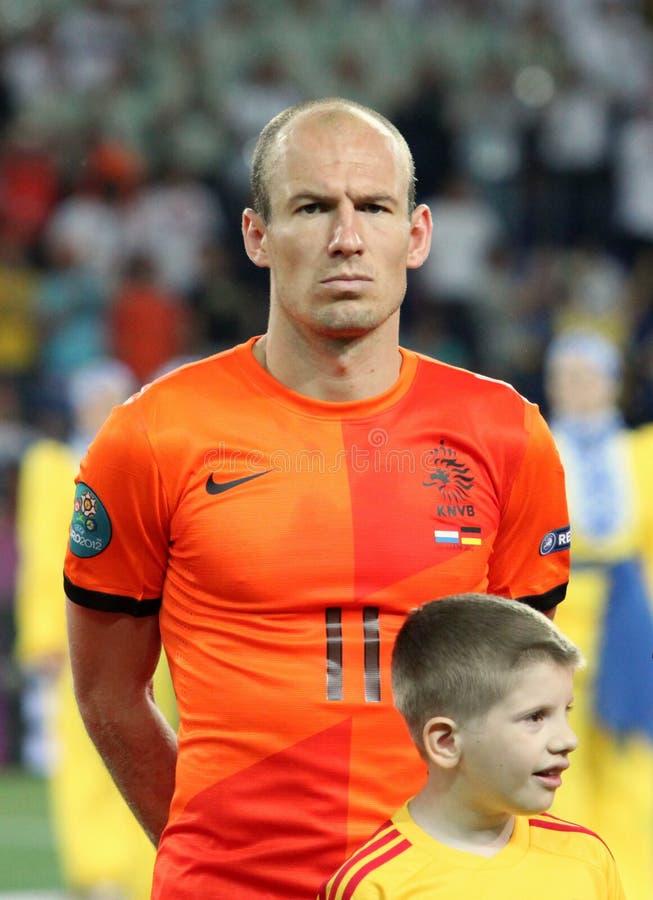 Arjen Robben stockbild