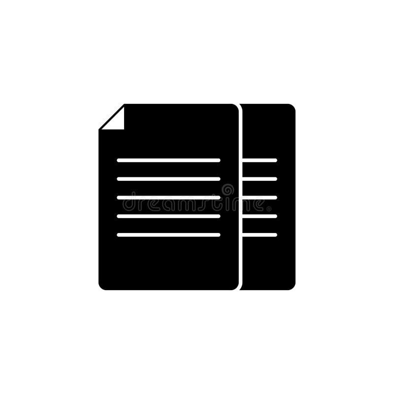 ark av legitimationshandlingarsymbolen Beståndsdel av rengöringsduksymboler Högvärdig kvalitets- symbol för grafisk design Tecken royaltyfri illustrationer