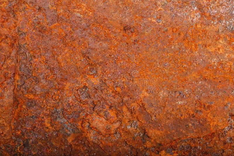 Ark av rostig metall oxiderad bakgrund royaltyfria foton