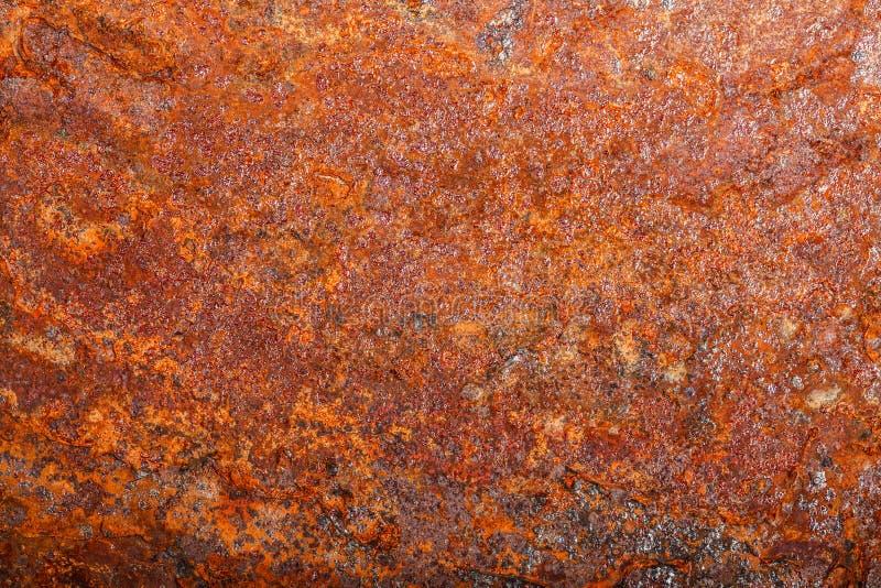 Ark av rostig metall oxiderad bakgrund arkivfoto