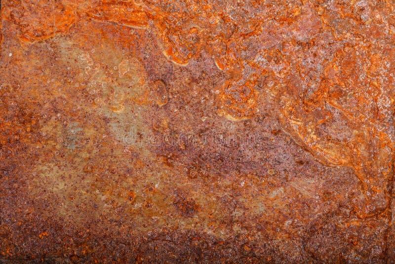 Ark av rostig metall oxiderad bakgrund arkivfoton