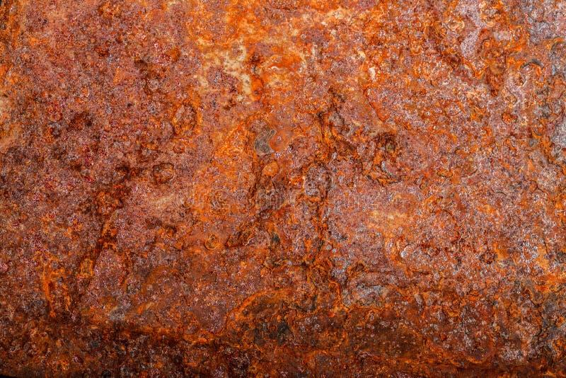 Ark av rostig metall oxiderad bakgrund arkivbilder