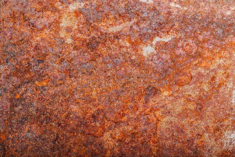 Ark av rostig metall oxiderad bakgrund arkivbild
