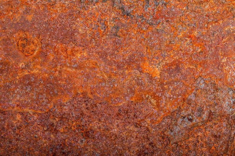 Ark av rostig metall oxiderad bakgrund royaltyfri foto