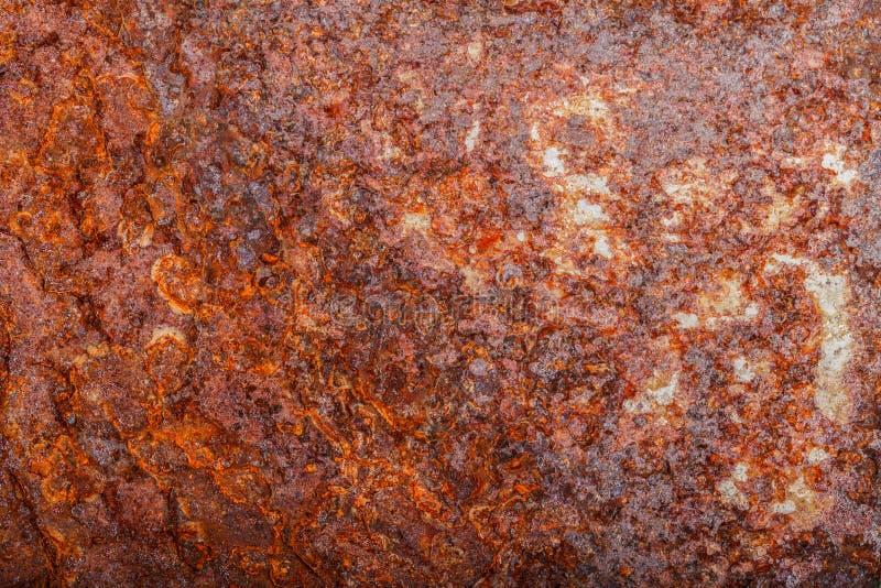 Ark av rostig metall oxiderad bakgrund fotografering för bildbyråer