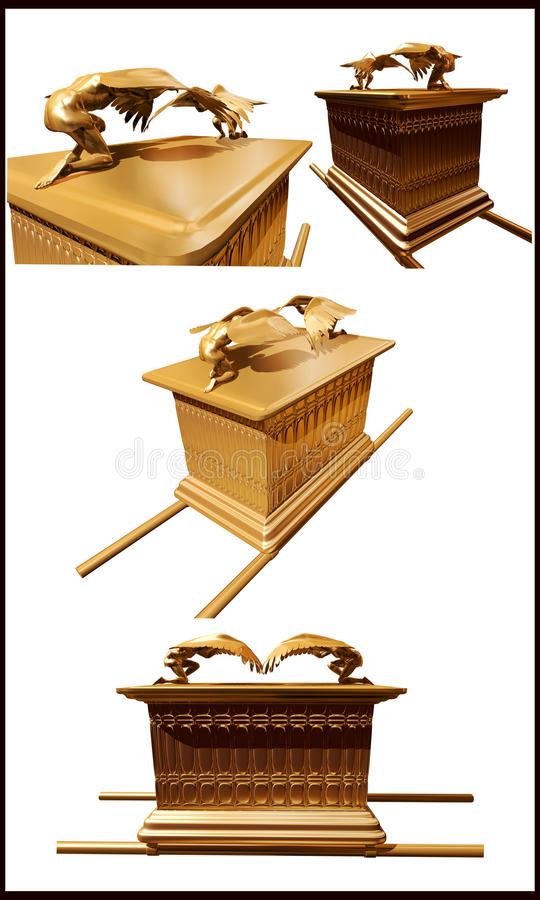 Ark of the covenant stock illustration