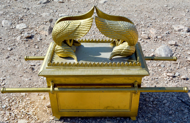 The Ark of the Covenant. In the wilderness royalty free stock photography