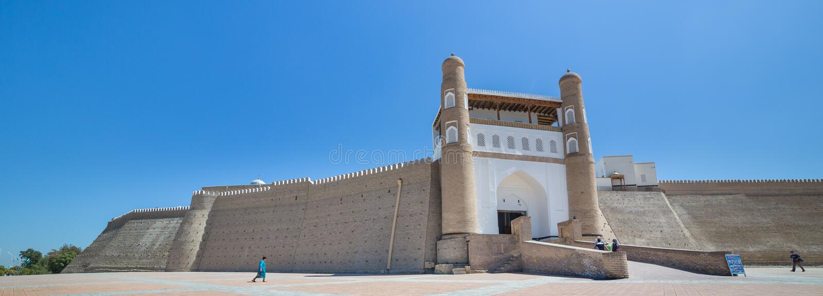 Download The Ark Fortress Of Bukhara, In Uzbekistan Editorial Photography - Image of ancient, attraction: 83714027