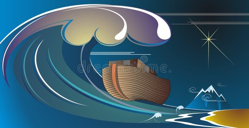 ark noah s royaltyfri illustrationer