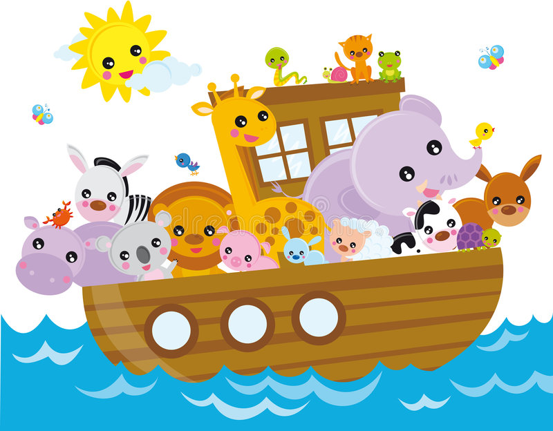 ark noah s stock illustrationer
