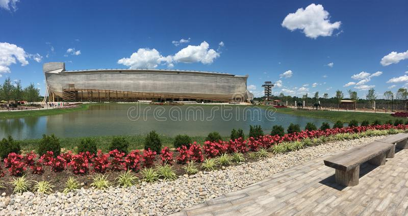 The ark. Ark outside panoramic royalty free stock photo