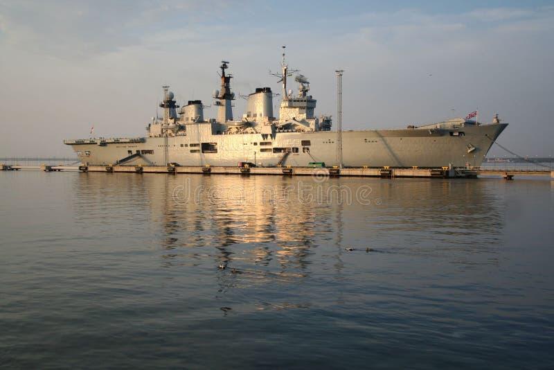 arka brytyjski port fotografia stock