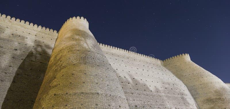 Arka Bukhara, arki cytadela zdjęcie royalty free