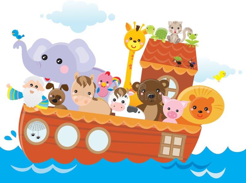 arka Noah s ilustracja wektor