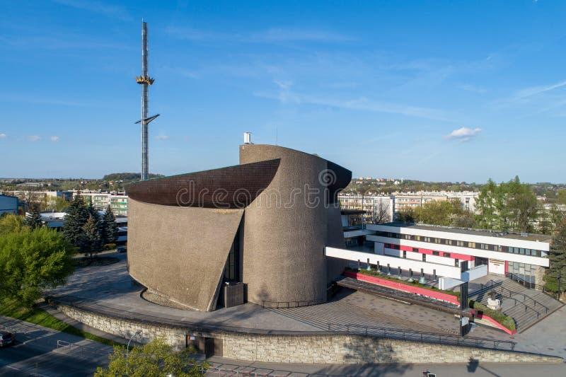 Arka Pana Kościoła w Krakowie, Polska zdjęcie stock