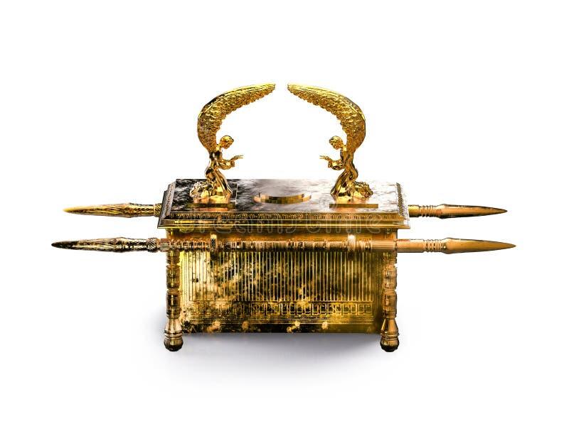 Arka umowa odizolowywająca na biel/3D ilustracji ilustracji