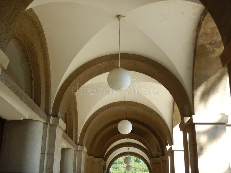 Arkada sufit dziejowy budynek obrazy royalty free