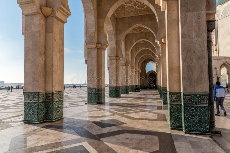 Arkada z islamską dekoracją zdjęcia stock