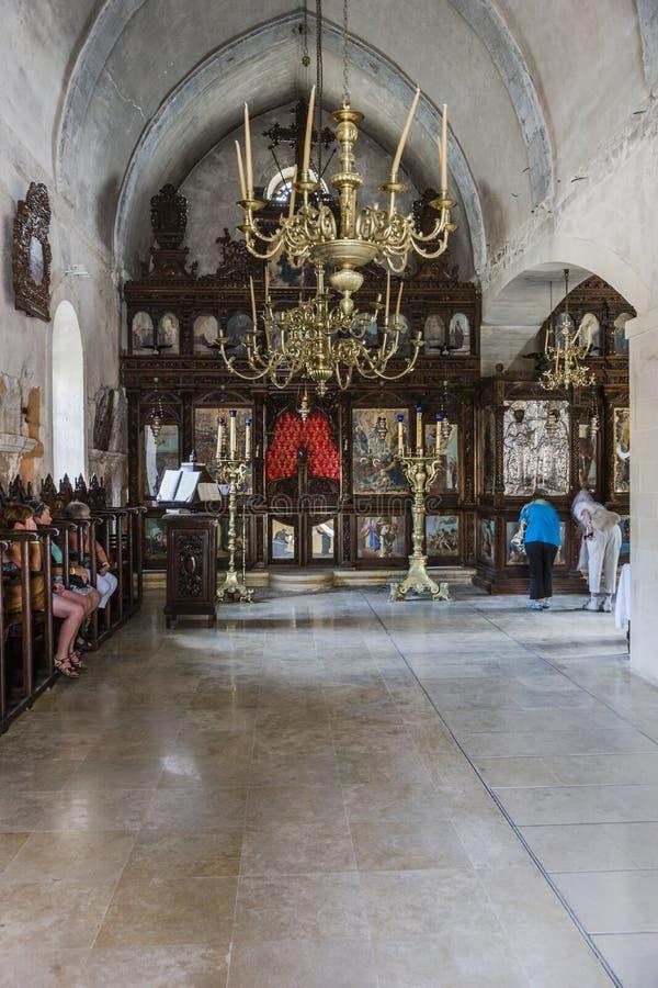 Arkadi monaster crete fotografia royalty free