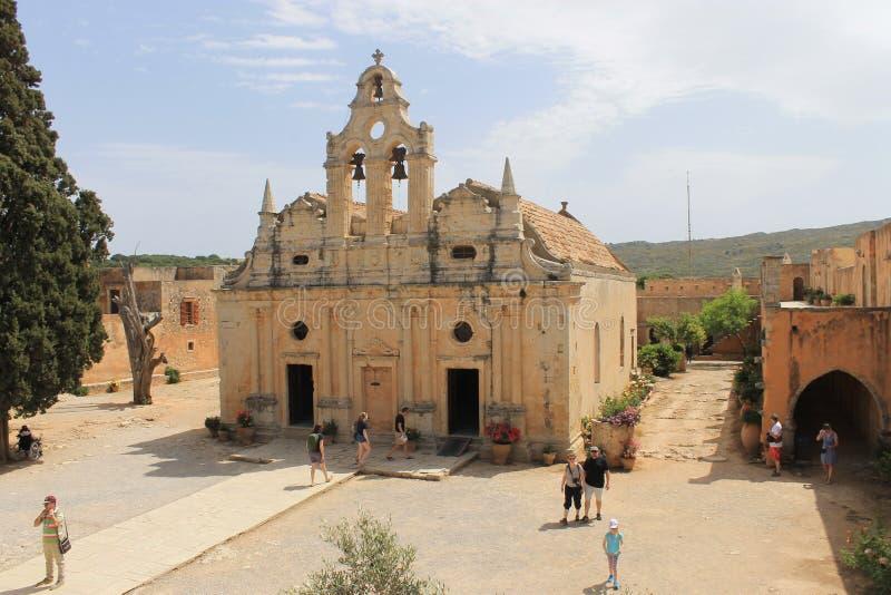 Arkadi Monastery stockbild