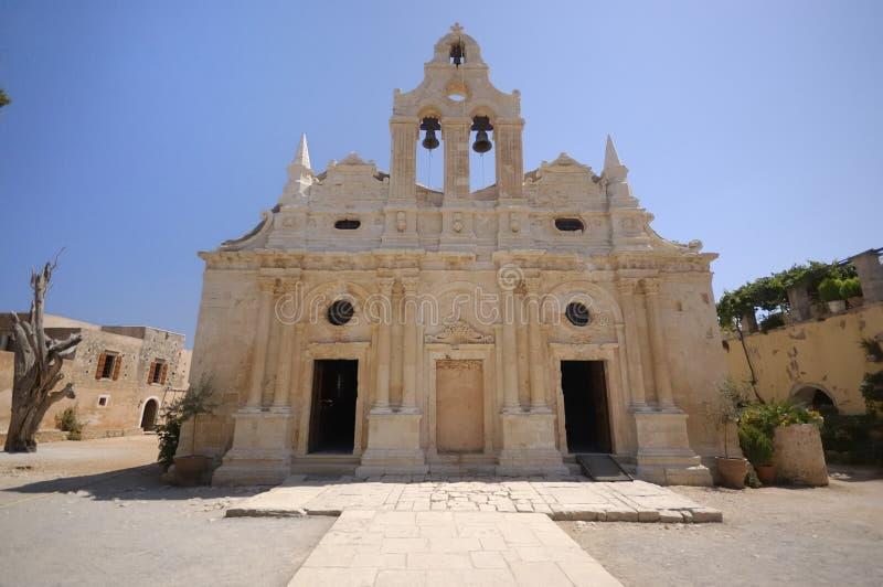 Arkadi old monastery, Crete, Greece