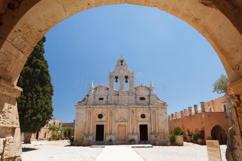 Arkadia monastery royalty free stock image
