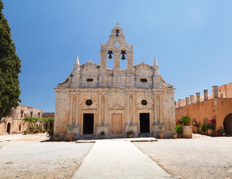Arkadia monastery stock photos