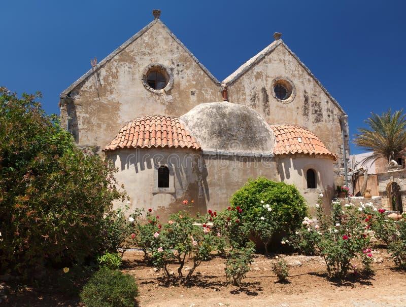 Arkadia monastery royalty free stock photo