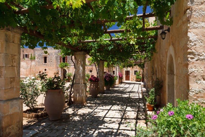 Arkadia monastery stock photography