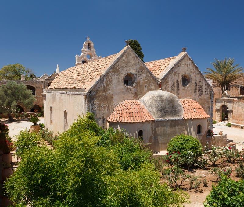 Arkadia monastery royalty free stock images