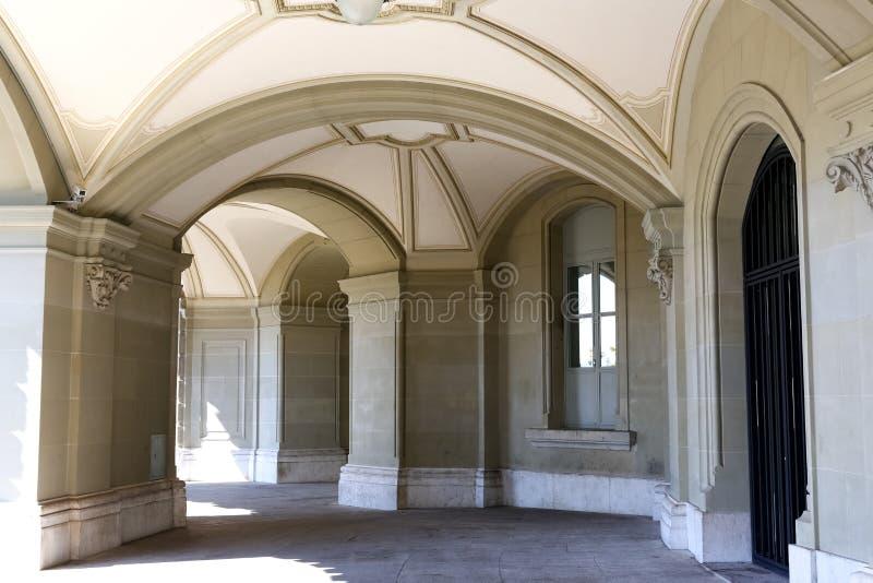 Arkady Federacyjny pałac obrazy royalty free