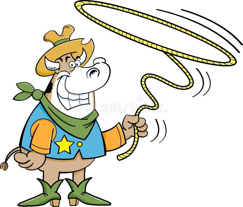 Arkan krowa ilustracja wektor