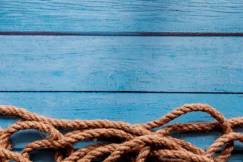Arkana na błękitnym drewnianym tle obraz royalty free