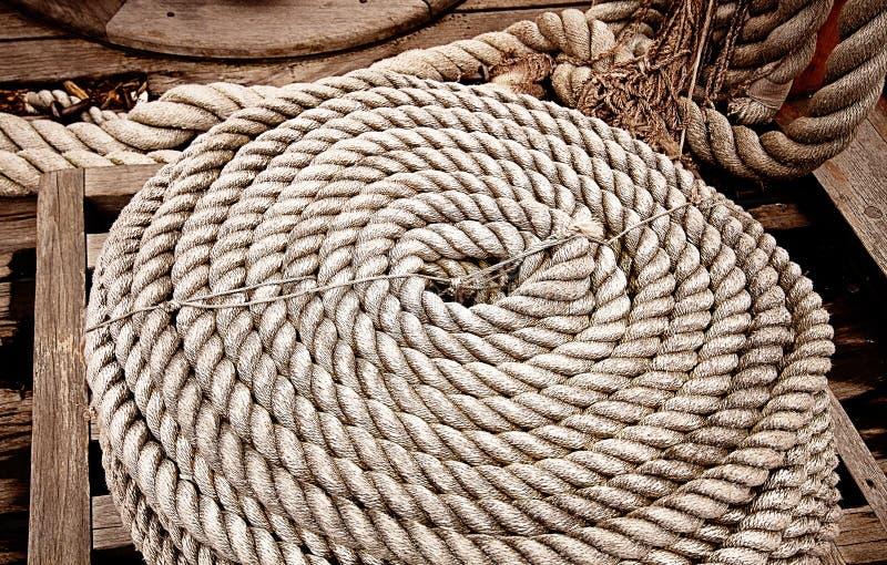 Download Arkana na jachtu pokładzie obraz stock. Obraz złożonej z wyposażenie - 57652753