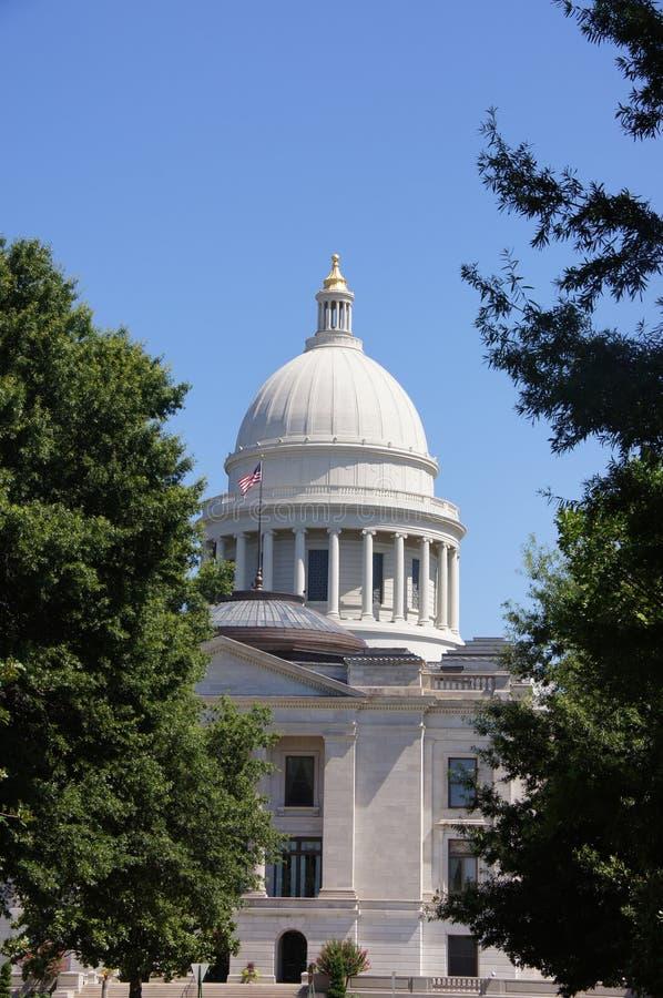 Arkansas huvudstad royaltyfri fotografi