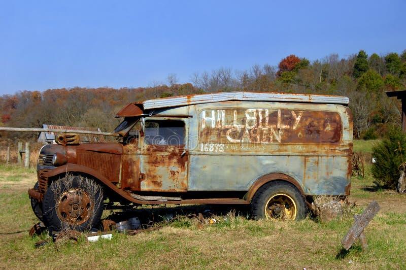 arkansas samochodu hillbilly obraz stock