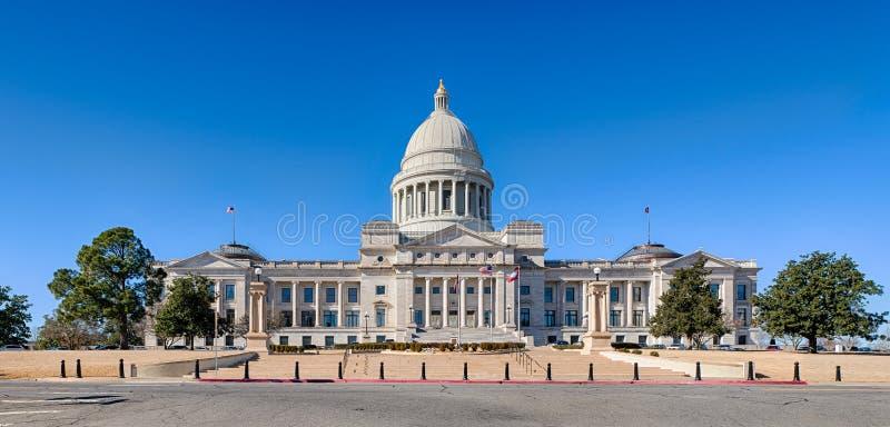 Arkansas statKapitolium fotografering för bildbyråer