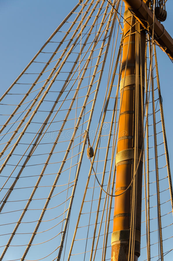 Arkany na pirata statku zdjęcia royalty free