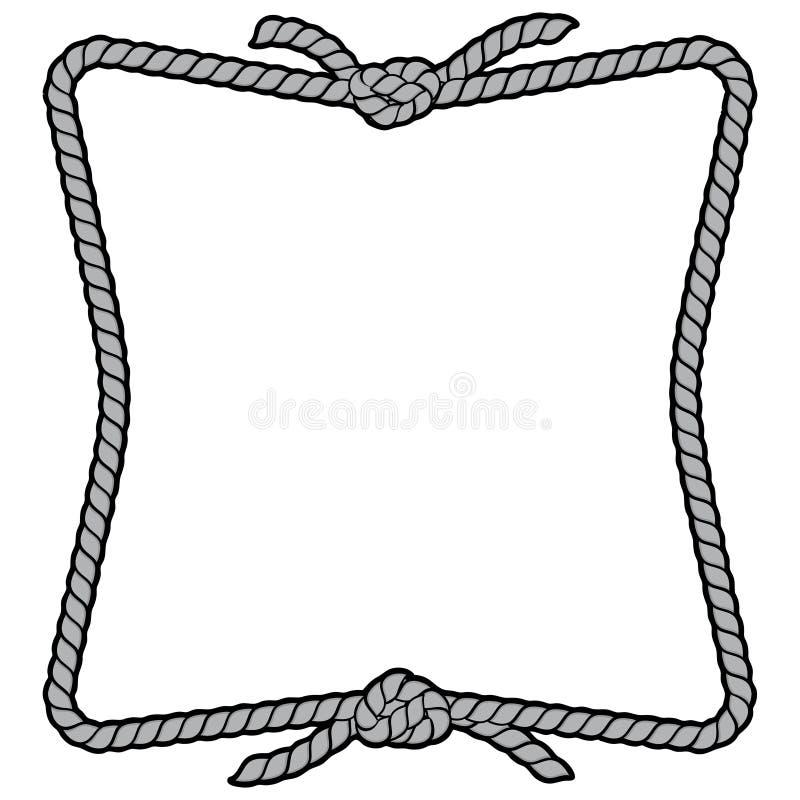 Arkany ramy znaka ilustracja royalty ilustracja