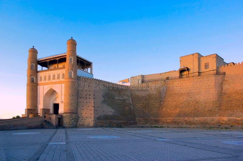 arkbukhara fästning arkivbilder