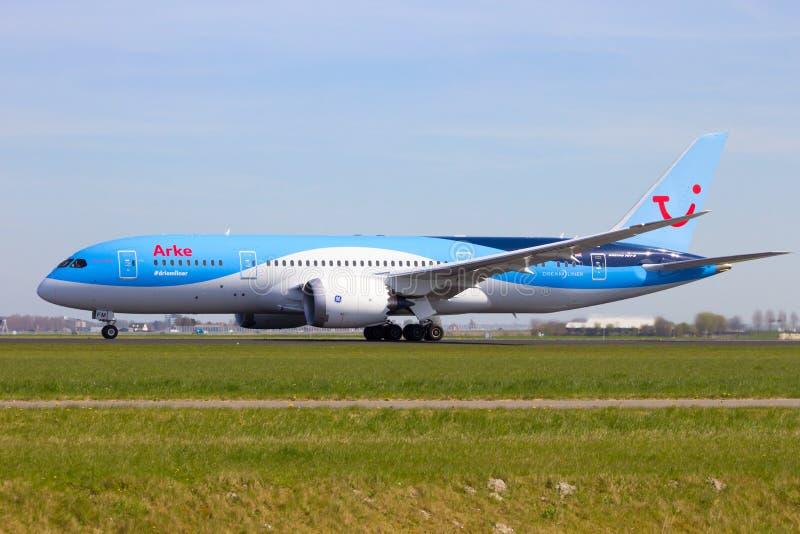 Arke Boeing 787 arkivbild