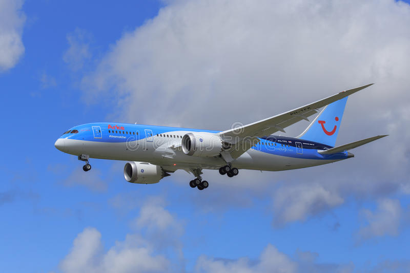 Arke Boeing 787 Dreamliner imágenes de archivo libres de regalías