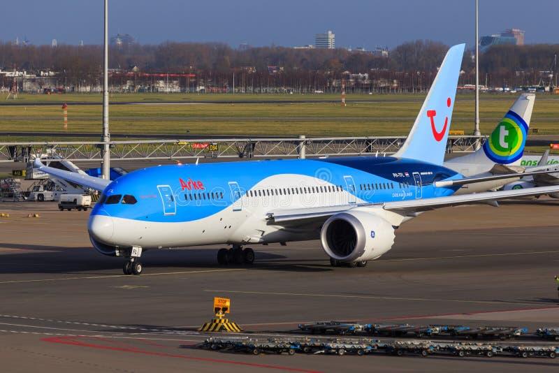 Arke Boeing 787 Dreamliner foto de archivo