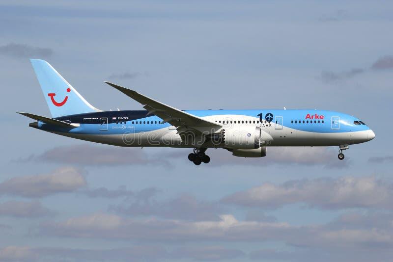 Arke Boeing 787-8 Dreamliner royalty free stock photography