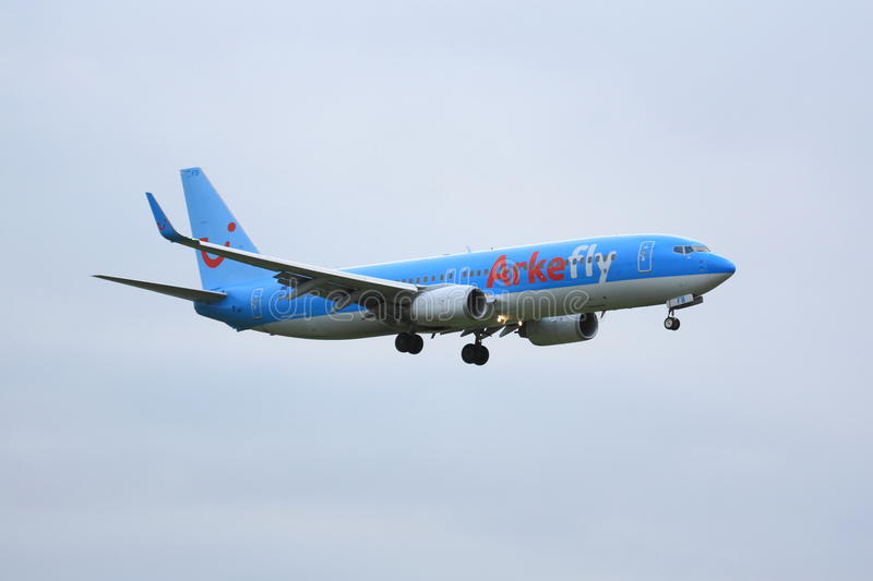 Arkefly Boeing 737 stock images