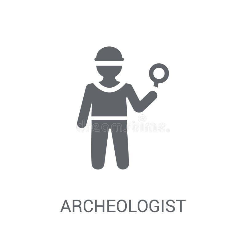 Arkeologsymbol  royaltyfri illustrationer