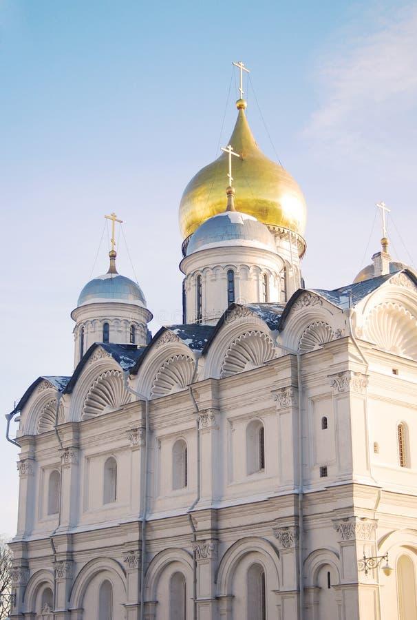 Download Arkhangels' Katedra W Moskwa Kremlin. Zdjęcie Stock - Obraz złożonej z katedra, cupola: 28970808