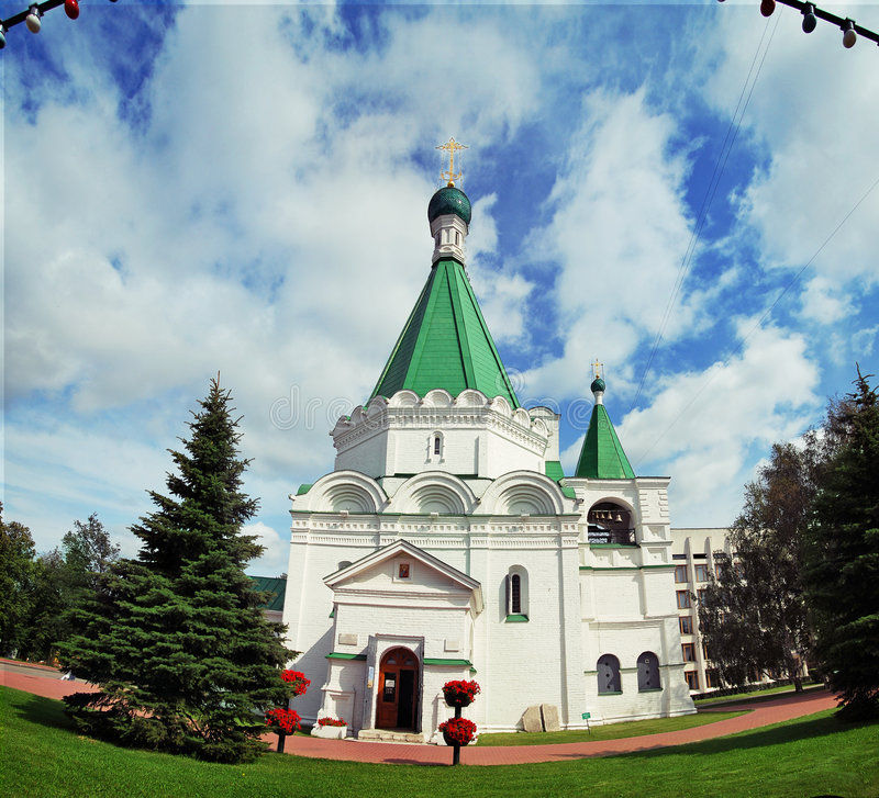 arkhangelsk大教堂mihajlo 免版税库存照片