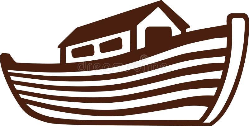 Arki Noah ikona royalty ilustracja