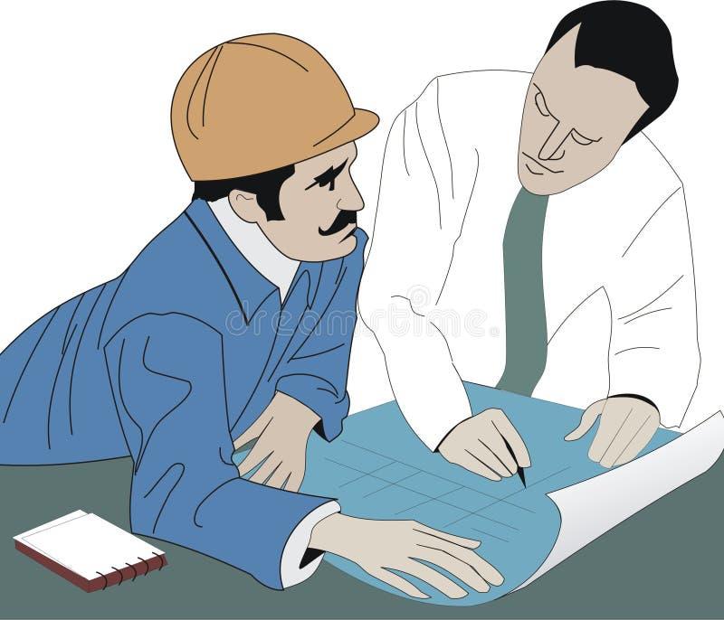 Download Arkitektbyggmästare stock illustrationer. Illustration av buick - 504882